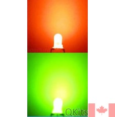 Red Green Bi Color LED 2 Lead