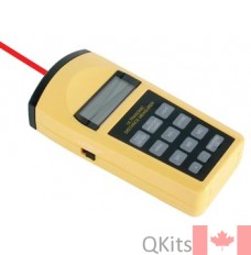 Ultrasonic Distance Meter with Laser image