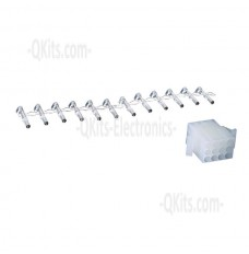 12 position wire connector female