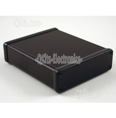 Extruded Aluminum w/ Metal End Panels BLACK