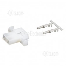 2 position wire connector female