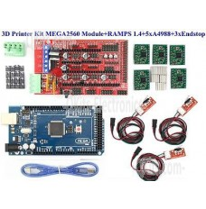 Ramps printer bundle Version 1.4 image of whats in the QKits bundle