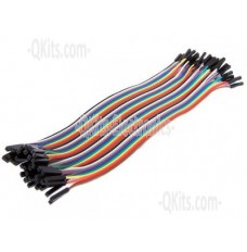 40 Pin Female to Female Jumper Cable image