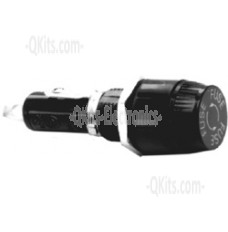 """Bayonet style fuse holder for 3AG (1/4"""" x 1 1/4"""") fuses."""