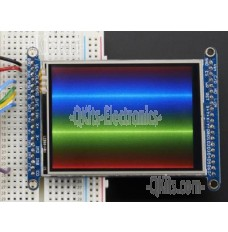 2.8 inch TFT LCD with Touchscreen Breakout Board w/MicroSD Socket - ILI9341 image