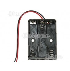 3 AAA Battery Holder with leads image