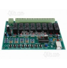 8 Channel USB Relay Card image