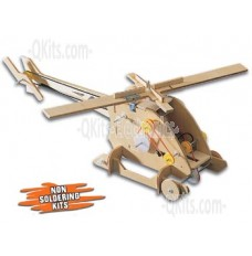 Coptermech Motorized Wooden Kit image