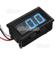 BLUE 0-100V Digital Voltmeter