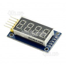 4 digit LED Display ModuleTM1637