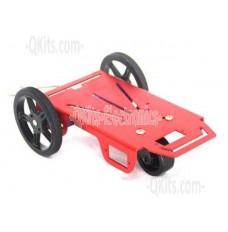 FT-MC-001 top side image smart car chassis, 2WD