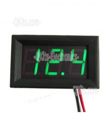 DVM-4.5-30V-green-LED display