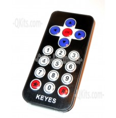 17 button IR transmitter and IR receiver  QKits Canada