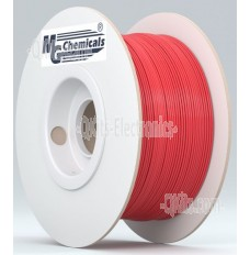 1.75mm PETG RED 3D Printer Filament MG Chemicals
