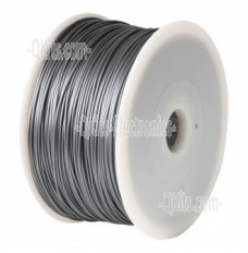 1.75mm PLA Silver 3D Printer Filament 1KG Spool