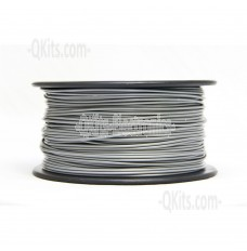 1.75mm PLA Silver 3D Printer Filament .5kg spool MG Chemicals