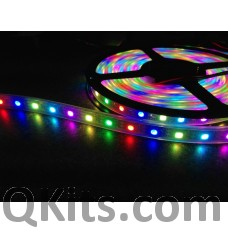 1 meter individually addressable LED strip QKits Canada