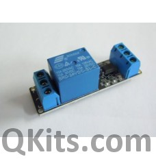 1 relay with logic level input and a 24 volt coil. image