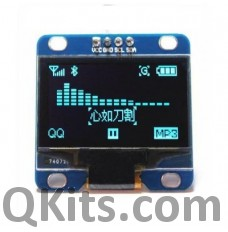 1.3 inch I2C 128x64 MONO OLED display
