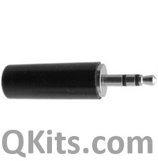 Stereo plug 23mm x 8mm dia. Cable diameter 4mm