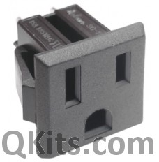 3 Wire AC Receptacle CSA UL image