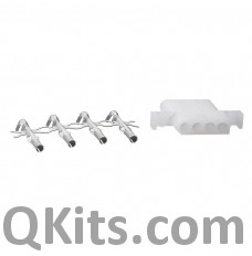 4 position wire connector female