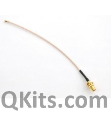 SMA to uFL/u.FL/IPX/IPEX RF Adapter Cable image