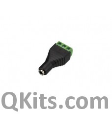3.5mm Stereo Female to 3P Screw Terminal image
