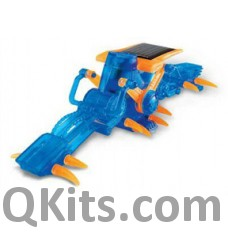 Solar Powered Crawling Worm Kit image