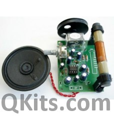 AM Radio Receiver Kit with Speaker image