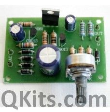 Variable Regulator Kit 0 - 30V / 1A image