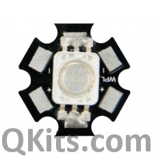 High Power LED - 3W - Yellow - 36lm image