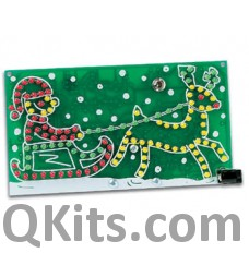 velleman mk116 Riding Santa LED Kit image
