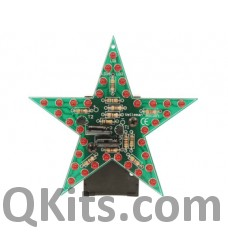 Flashing Red LED Star Kit image