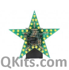 Flashing Yellow LED Star Kit image
