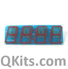 "4 Digit Seven Segment Display Module (3"" LEDs) image"