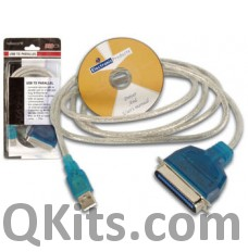 USB to Parallel Cable image