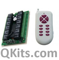 315MHz/433MHz Wireless Remote Control Switch System image