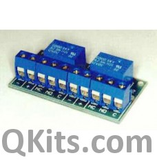 Relay Board for 2 x 1A Minature Relay image
