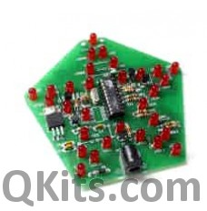 Flashing Xmas Star Kit image