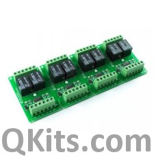 8 Channel Relay Card 24VDC image