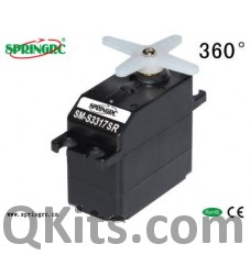 360 Degree Continuous Rotation Servo image