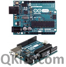 Arduino Uno Rev3 with Stackable Pin Headers image