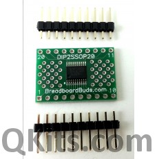 8 ch level shifter breakout board