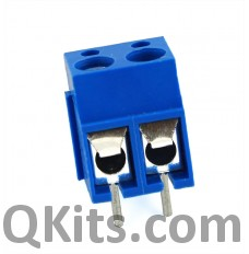2 Pin Screw Terminal Connector, Small