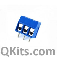 3 Pin Screw Terminal Connector, Small