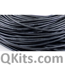 Black Silicone Wire 22 AWG