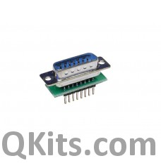 Male DB15 to breadboard adapter