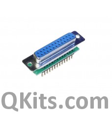 Female DB9 to breadboard adapter