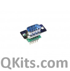 Male DB9 to breadboard adapter